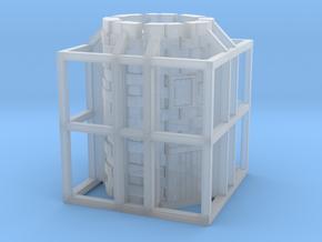 Glacier Corner Tower in Smooth Fine Detail Plastic