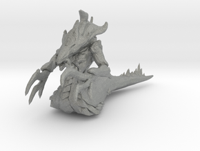 starcraft Hydralisk 62mm 1/60 miniature for games in Gray PA12