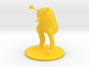 DnD sack creature in Yellow Processed Versatile Plastic
