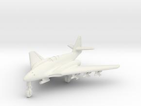 (1:144) Messerschmitt Me 262 HG III w/ X4 & BR 21 in White Natural Versatile Plastic