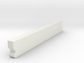 "Futures Fin Filler Plug 3/4"" in White Natural Versatile Plastic"