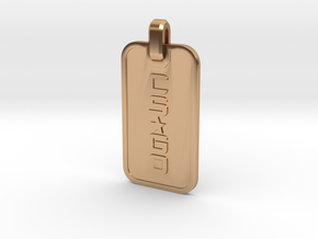 CS:GO - Dogtag Ringed in Polished Bronze
