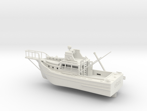 6 inch Jaws Boat By Edwin in White Natural Versatile Plastic