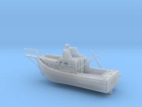 6 inch Jaws Boat By Edwin in Smooth Fine Detail Plastic