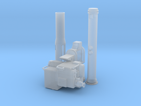 Soporte-TOW-Corto-12-proto-01 in Smooth Fine Detail Plastic