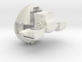 Transformers Bot-Bots Megabyte (transforming compu in White Natural Versatile Plastic