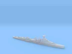 HMS Coventry 1:1800 WW2 naval cruiser in Smoothest Fine Detail Plastic