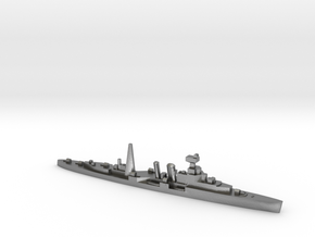 HMS Coventry (masts) 1:1800 WW2 naval cruiser in Natural Silver