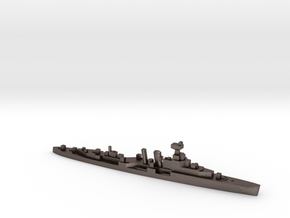 HMS Coventry 1:2400 WW2 naval cruiser in Polished Bronzed-Silver Steel