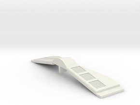 1/1000 Lowered Warp Engine Struts - Style 2 in White Natural Versatile Plastic