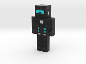 The Xenon Knight | Minecraft toy in Natural Full Color Sandstone