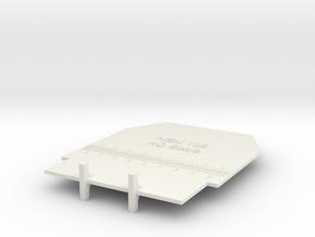 NEM 102 HO Gauge in White Natural Versatile Plastic