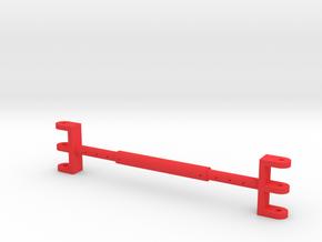 Pendant rope spreader for TWH Manitowoc 4100 in Red Processed Versatile Plastic