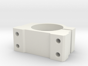 cnc structure 8 in White Natural Versatile Plastic