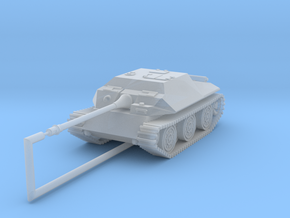 E25 88mm fictional 1:144 in Smooth Fine Detail Plastic