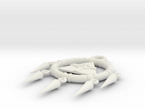 YuGiOh! Millennium Ring in White Natural Versatile Plastic