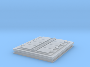 1/96 scale VLS System for Aster Lanuchers in Smooth Fine Detail Plastic