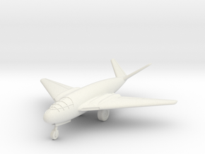 (1:144) Messerschmitt Me P.1107/II (Gear down) in White Natural Versatile Plastic