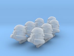 Evictor heads in Smooth Fine Detail Plastic