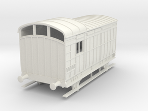 o-32-nlr-kesr-luggage-brake-coach in White Natural Versatile Plastic