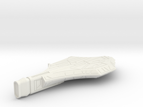"""1/1000 D-11 """"One Wing"""" Refit Right Body in White Natural Versatile Plastic"""