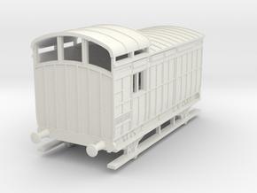 o-100-nlr-18-6-luggage-brake-coach in White Natural Versatile Plastic