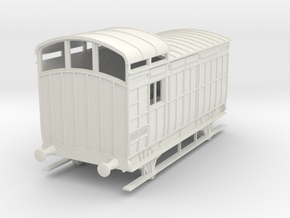 o-43-nlr-18-6-luggage-brake-coach in White Natural Versatile Plastic