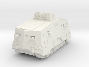 A7V Tank 1/120 in White Natural Versatile Plastic