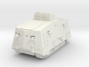 A7V Tank 1/160 in White Natural Versatile Plastic
