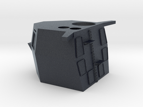 1/96 scale F-125 Rear Stack and Structure in Black PA12