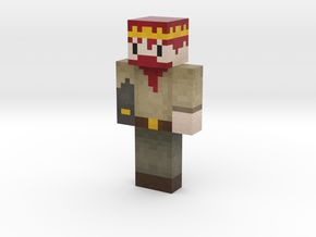 Dwarf_of_norgeth | Minecraft toy in Natural Full Color Sandstone