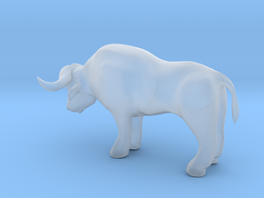 S Scale Ox in Smooth Fine Detail Plastic