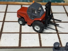 N Scale 5t Manitou Forklift in Smooth Fine Detail Plastic