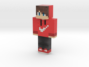 RED_DARK | Minecraft toy in Natural Full Color Sandstone