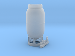 33lb Propane Tank 1/24 in Smooth Fine Detail Plastic: 1:24