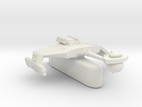 3788 Scale Klingon D5H Light Tactical Transport WE in White Natural Versatile Plastic