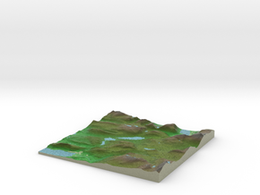 Terrafab generated model Sun Apr 21 2019 11:52:36  in Natural Full Color Sandstone