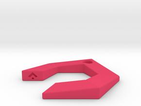 GAIA - Earring in Pink Processed Versatile Plastic
