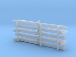 Unterzüge Typ-D 1:40 für Tender KL401/402/403 in Smooth Fine Detail Plastic