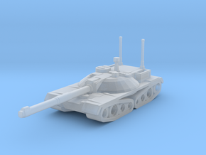 Thunder Main Tank in Smooth Fine Detail Plastic