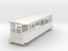o-76-dublin-blessington-drewry-railcar in White Natural Versatile Plastic