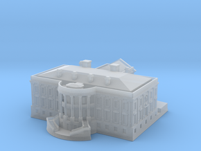 The White House 1/720 in Smooth Fine Detail Plastic