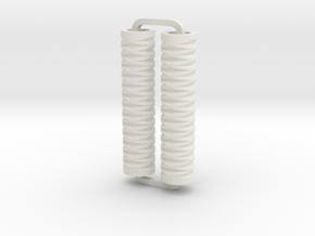 Slimline Pro diamonds lathe in White Natural Versatile Plastic