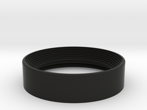 Leica Q Ring Hood in Black Natural Versatile Plastic