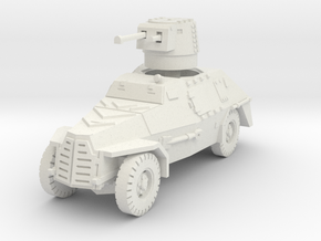 Marmon Herrington mk2 (welded) 1/72 in White Natural Versatile Plastic