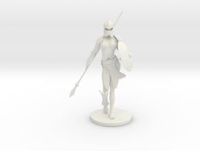Featuring Helena as a Gladiator - 45mm Mini in White Natural Versatile Plastic: Small
