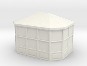 Gazebo 1/100 in White Natural Versatile Plastic