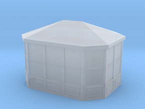 Gazebo 1/285 in Smooth Fine Detail Plastic