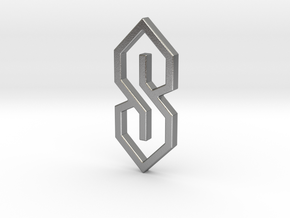 The S-Thing Pendant in Natural Silver