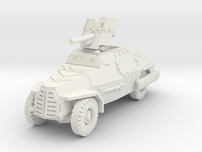 Marmon Herrington mk2 (Pak 36) 1/56 in White Natural Versatile Plastic